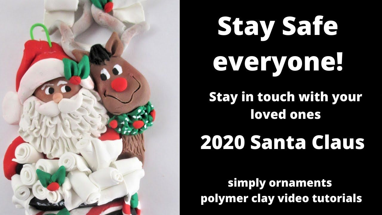 2020 Polymer Clay Santa and Rudolph Delivering Toilet