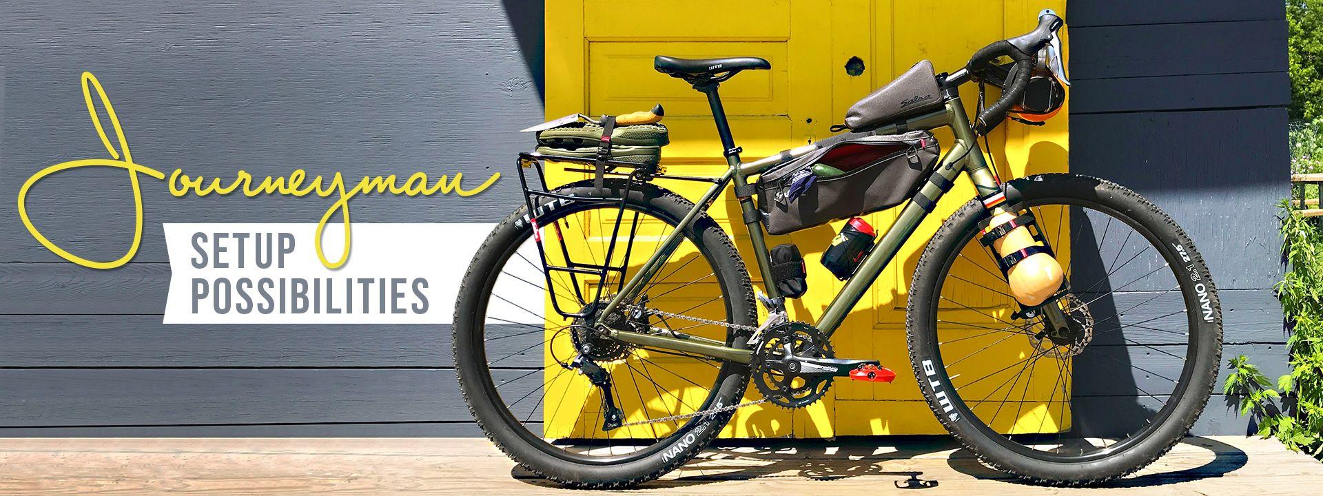 Salsa Journeyman One Bike For Many Riders Salsa Cycles Bike Rider