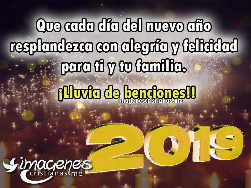 Imagenes De Feliz Año Nuevo 2019 Con Mensajes Cristianos