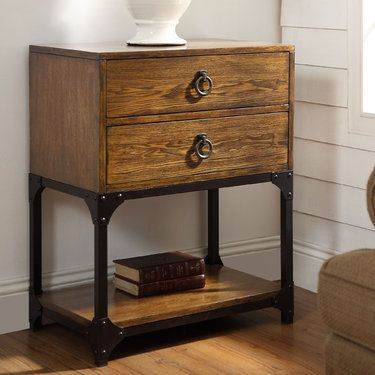 Findlay Two Drawer Accent Table