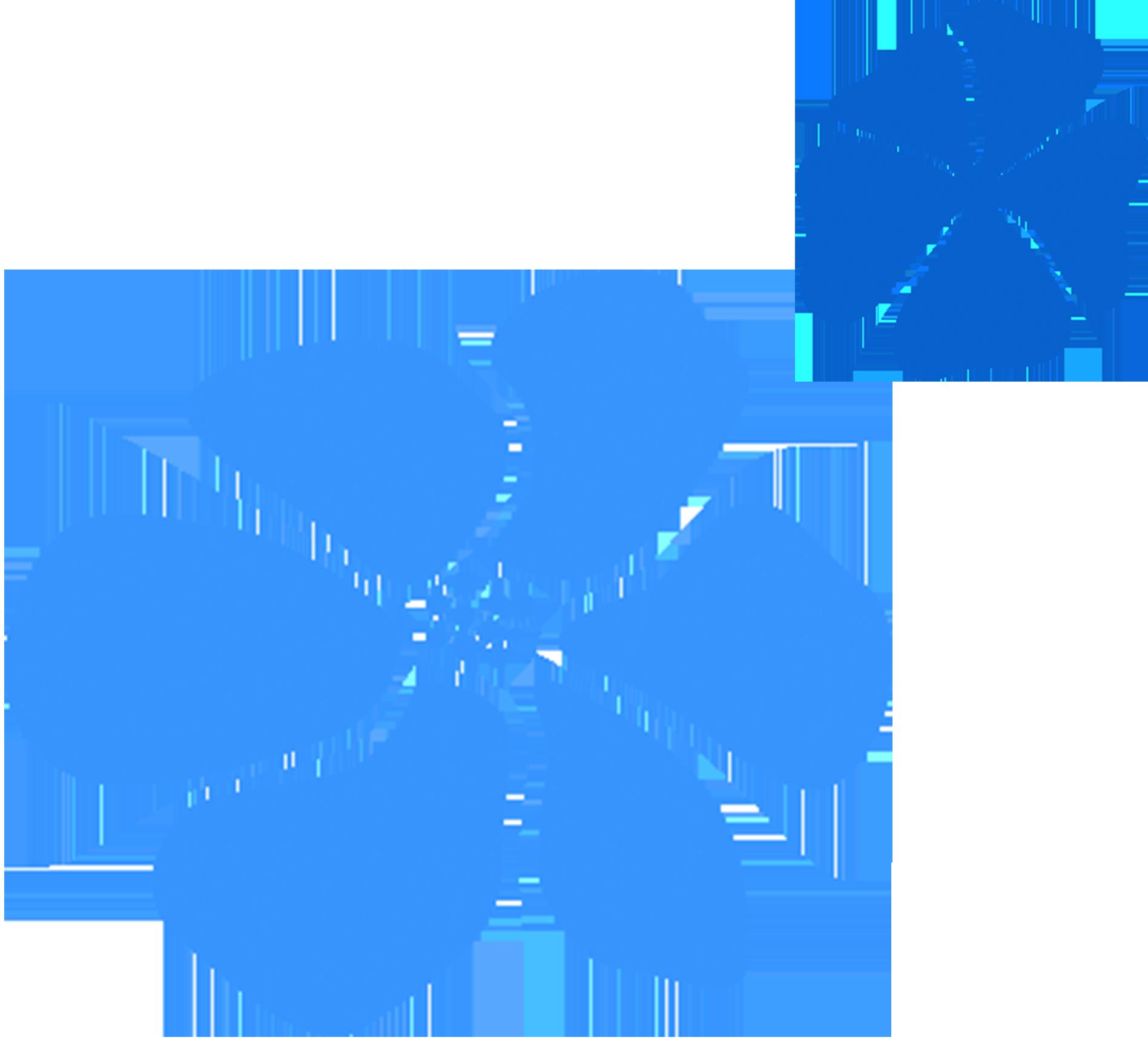 Blue Tropical Flowers Poly Little Clips Pinterest Tropical Flowers
