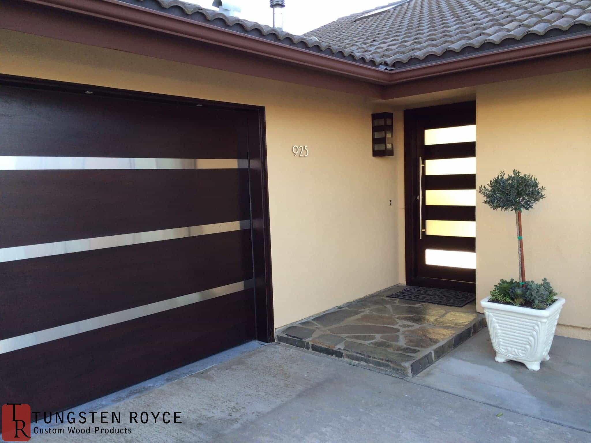 Modern Garage Doors in   Garage Door  Pinterest  Garage doors