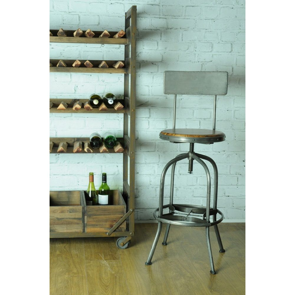 Revolving-Barstool-with-back-rest.jpg | Kitchen ideas | Pinterest ...