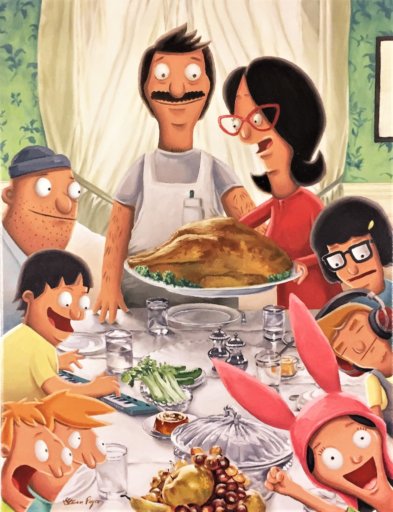 #Happy Thanksgiving from the Belcher Family - jigsaw puzzle (300 pieces)
