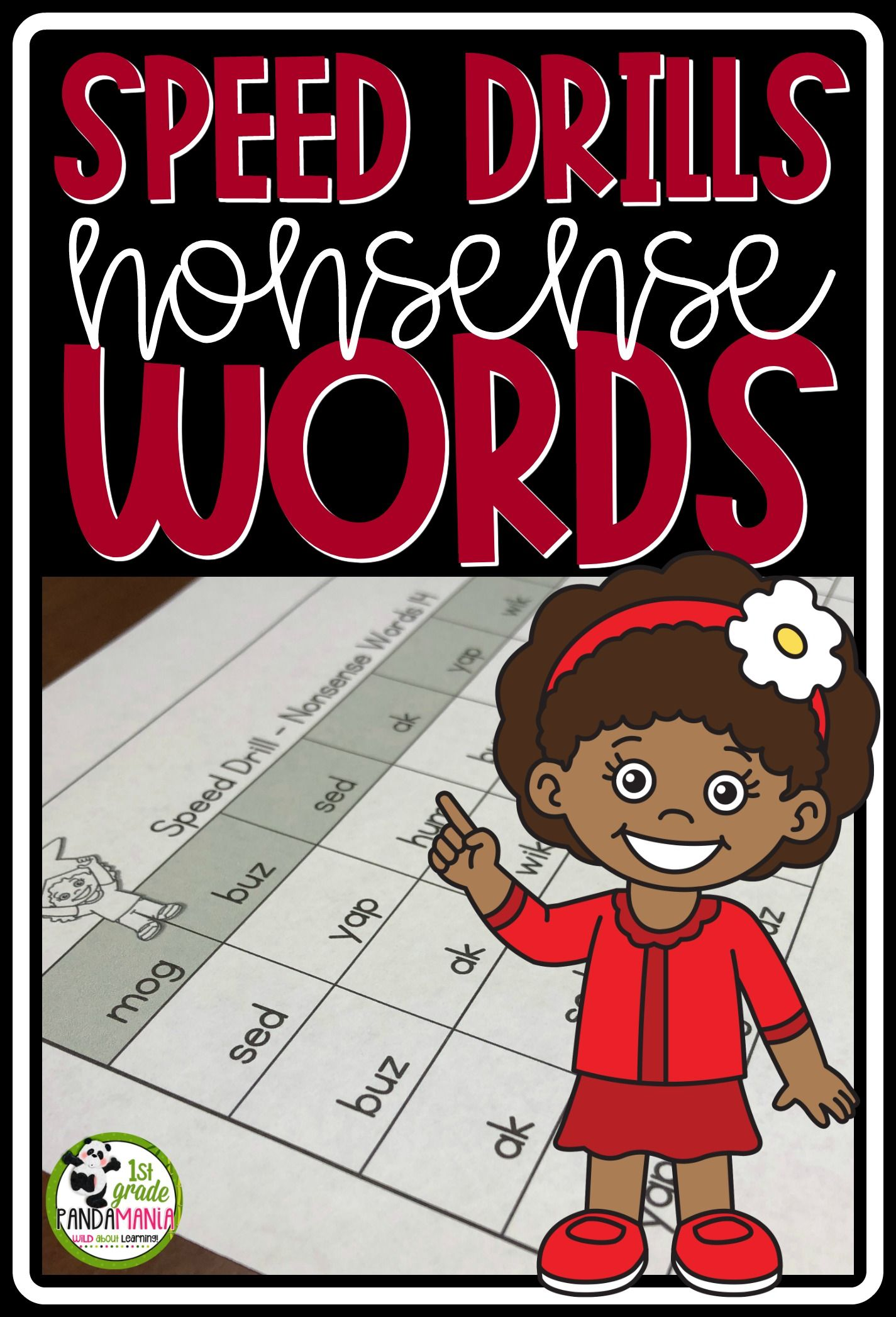 Nonsense Word Speed Drills
