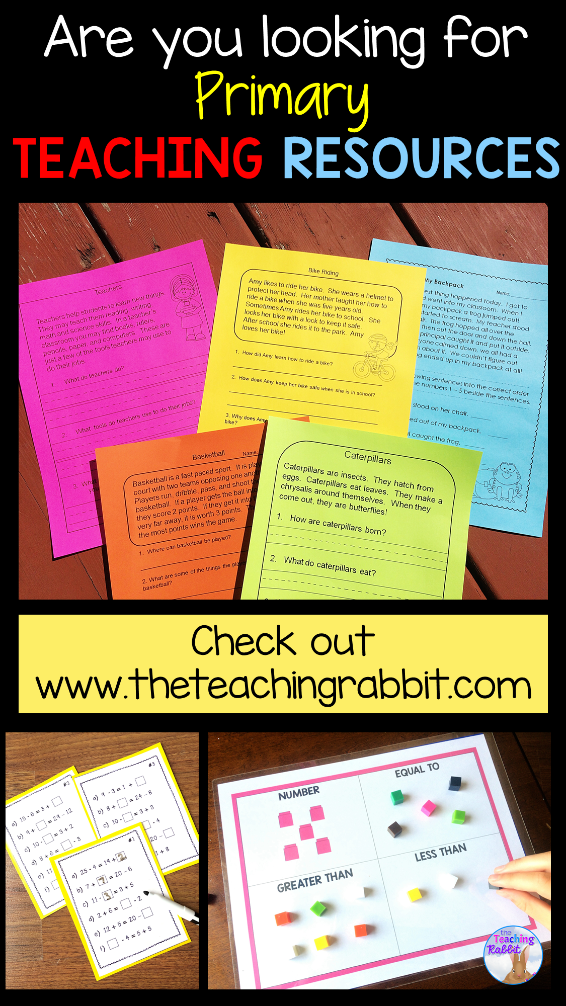 Primary Teaching Resources In
