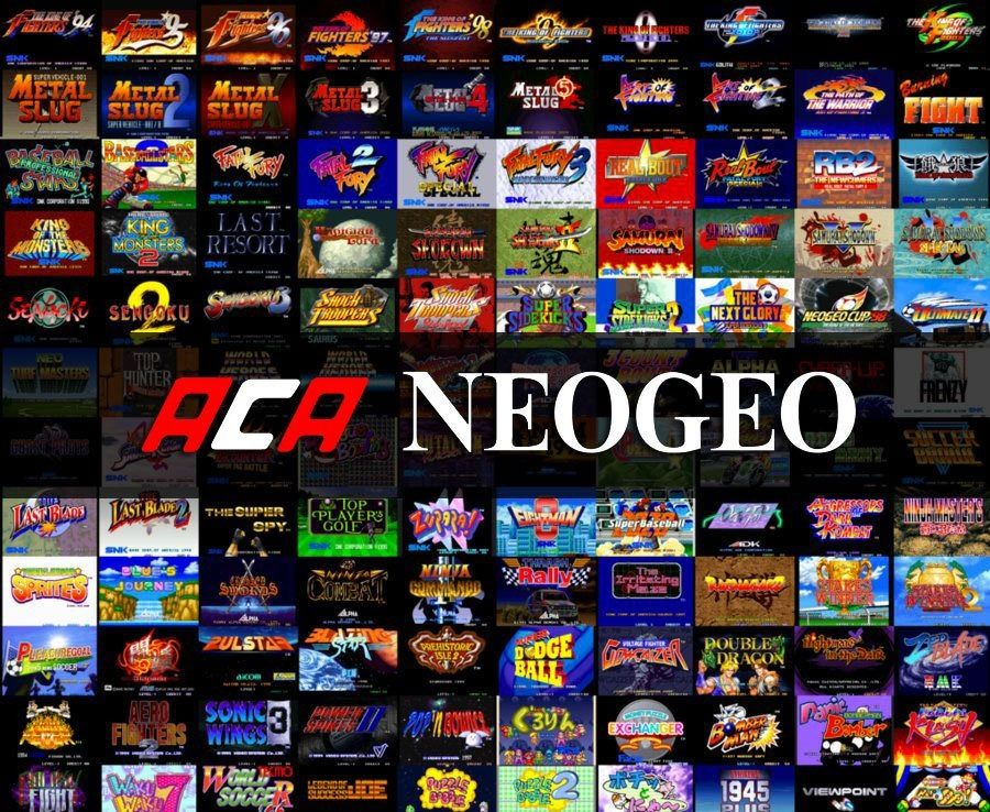 Play ALL NEOGEO Games Online in your Browser Art of