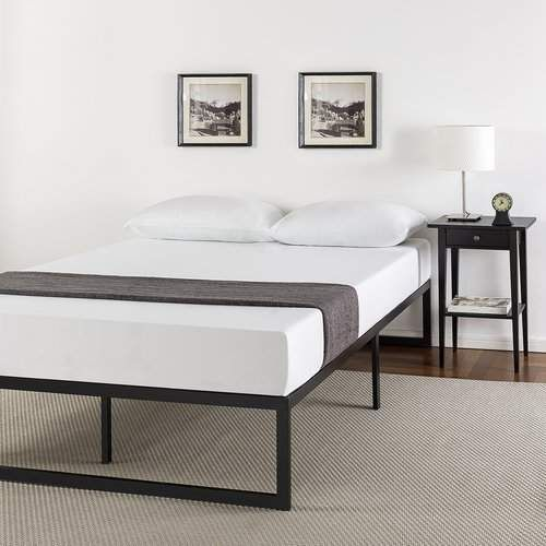 Alwyn Home Quick Lock Smart Frame Platform Bed Required Assembly