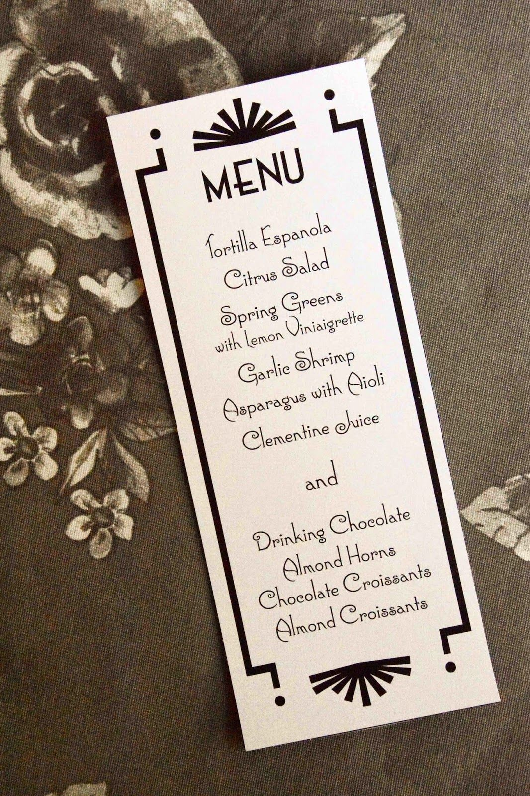 photograph regarding Printable Menu Card named Menu card absolutely free printable history. PDF on your own may well edit. Aesthetic