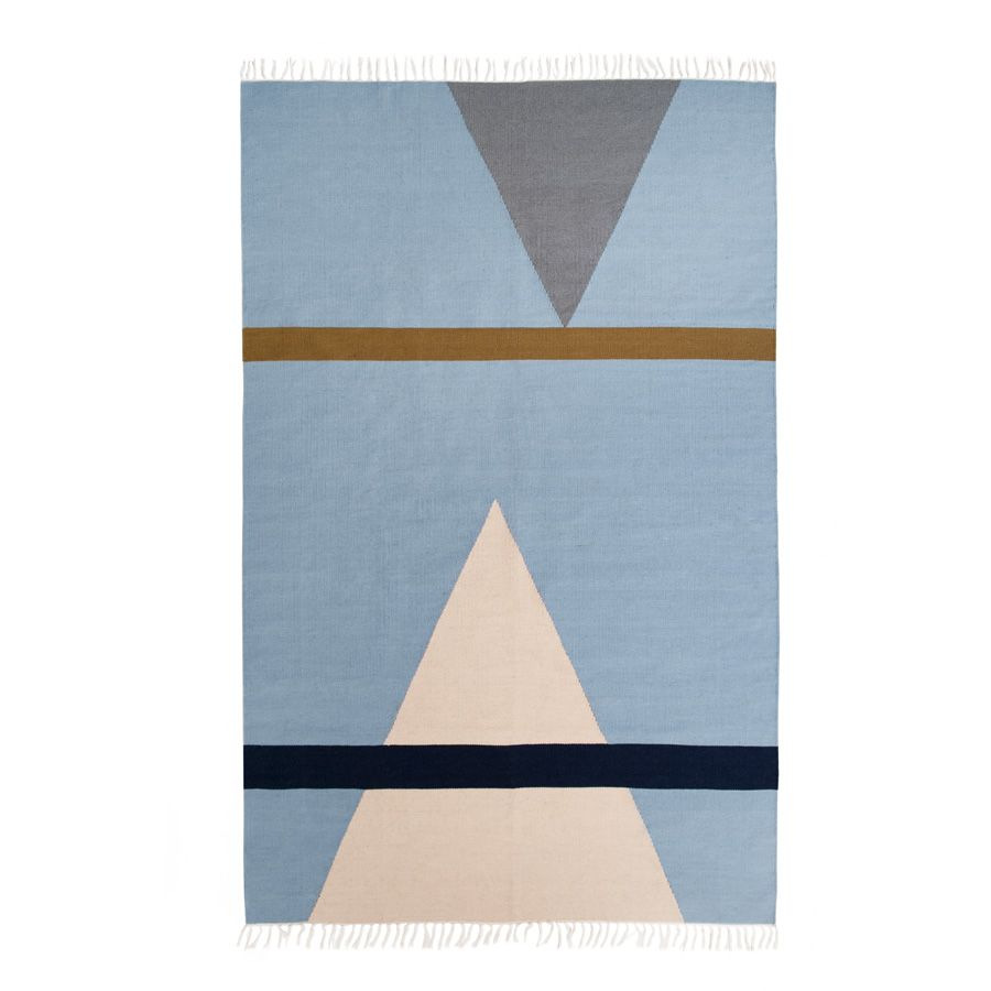 Fort 3 Flat Weave Rug By Lightly Australia 100 Hand Woven New Zealand Wool