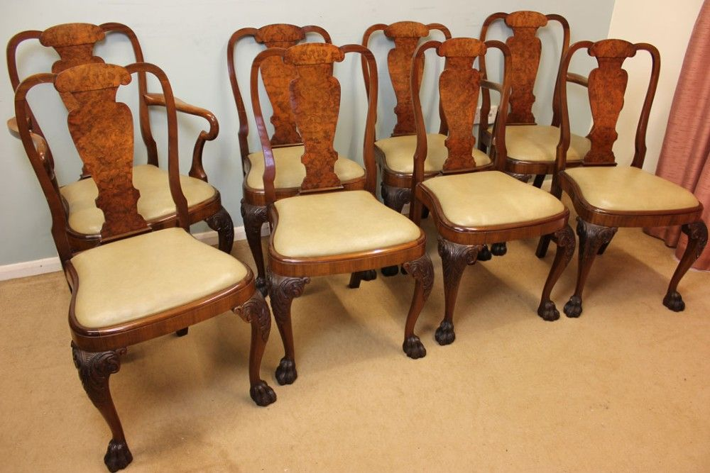 set chairs antique eight chairs antique dining chairs antique walnut ...    Millbank Living and Dining Room   Pinterest - Set Chairs Antique Eight Chairs Antique Dining Chairs Antique Walnut
