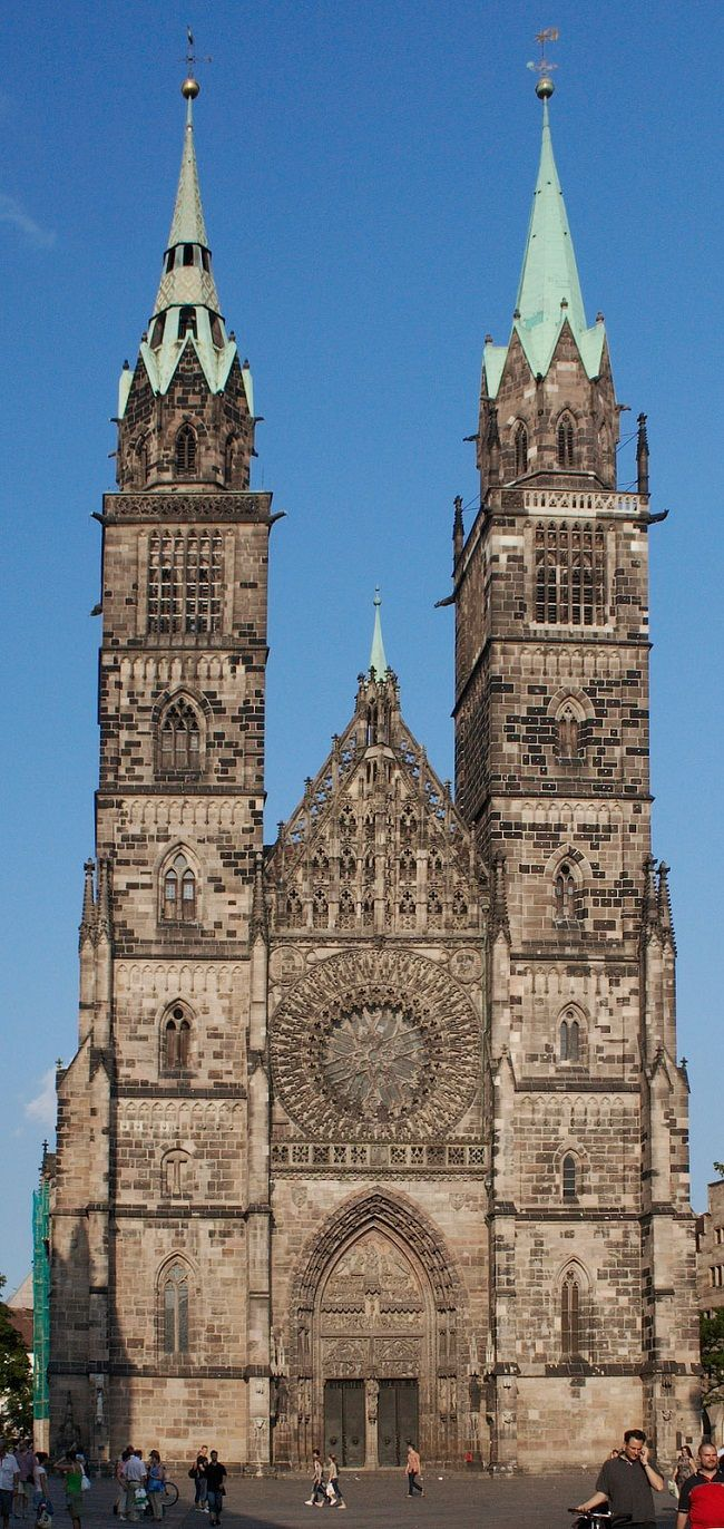 St. Lorenz Church . Nuremberg Germany