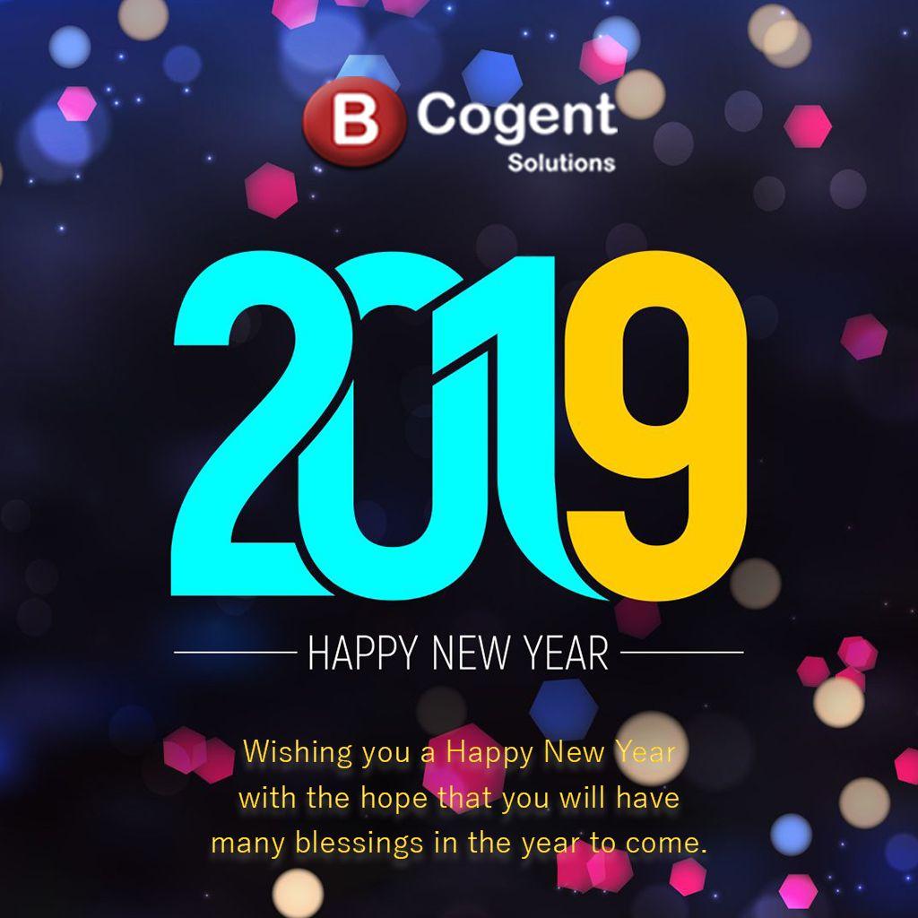"""Happy New Year 2019"