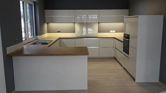 Schmidt Küchen-Musterküche Hochglanz weiss Ausstellungsküche in - Küchen Weiß Hochglanz