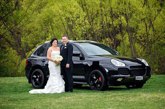 porsche каен свадьба