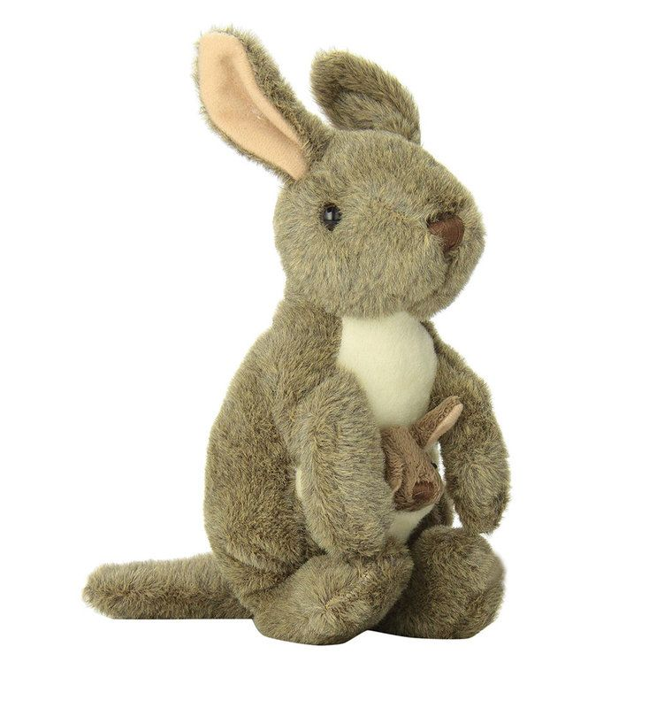 793b3619c797 Title  Kangaroo with Joey soft toy Cuddlekins Mini Size  Measures 8 inch    20cm tall Price  AUS  13.95 Brand   Wild Republic Lots more items like this  ...