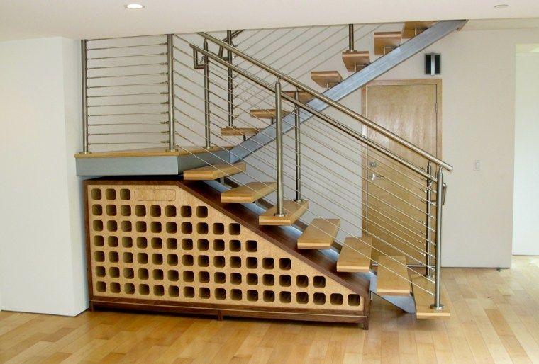 Schoner Und Praktischer Schrank Unter Der Treppe Dekoration
