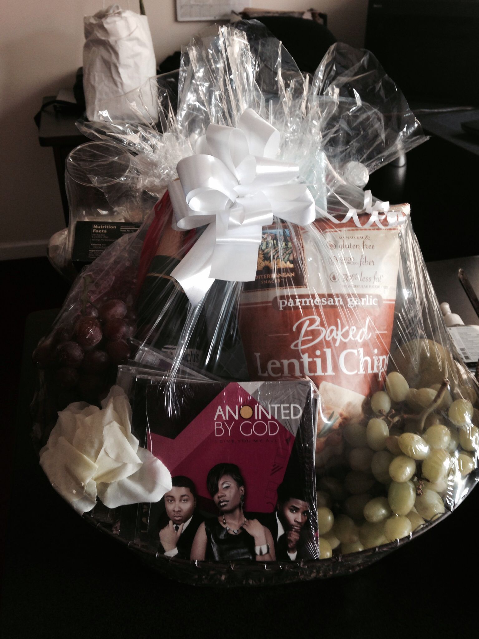 One voice mediaus Motherus Day challenge gift  Custom Baskets by me