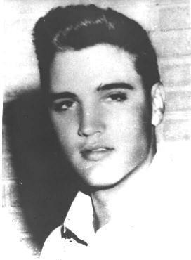 #Elvis in High School ~ Look of things to come!