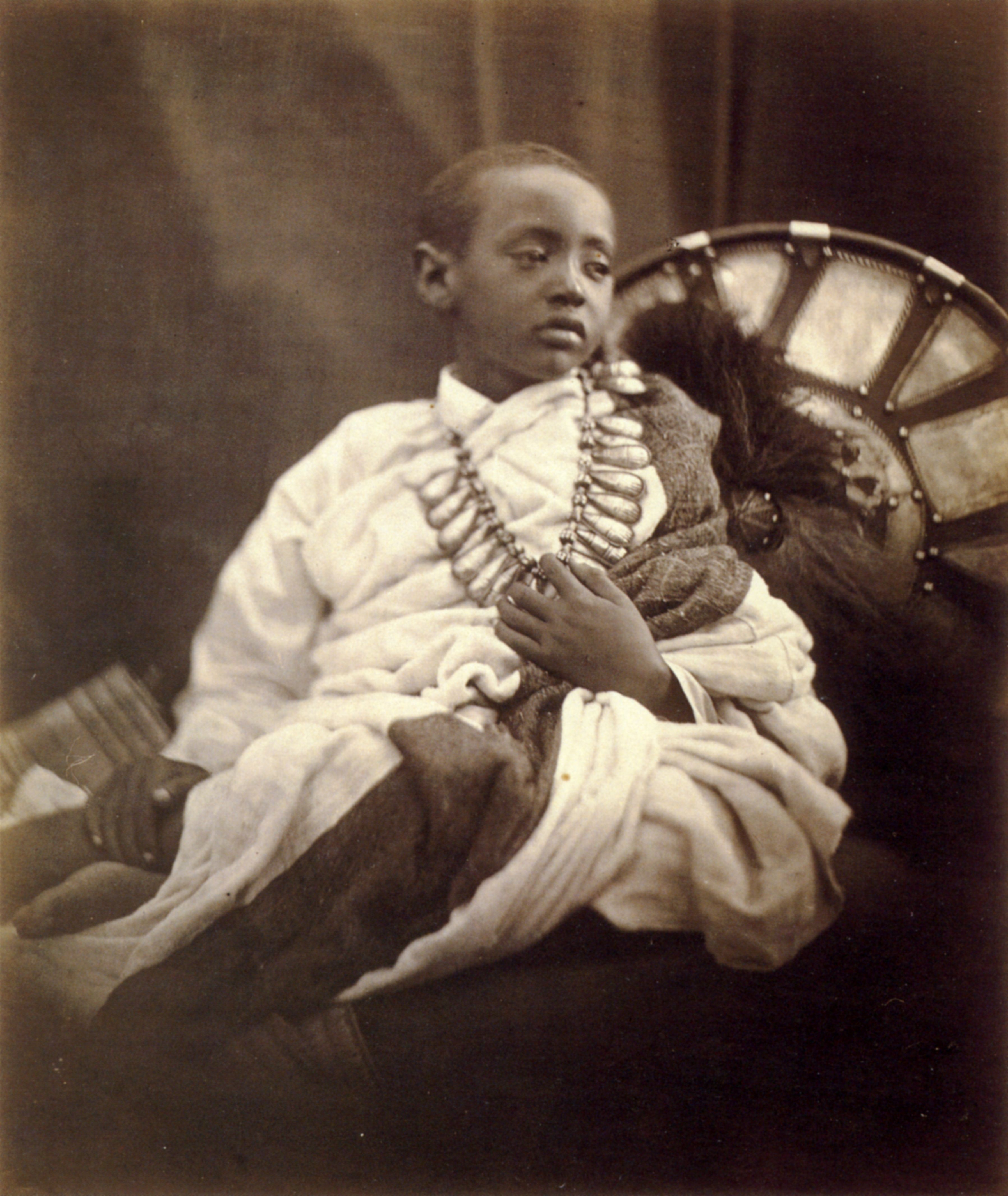 Portrait Of Prince Alamayu Son And Heir Of Emperor Tewodros Ii Of Ethiopia He Was Kidnapped And Taken Captive I African Royalty African History Black Royalty