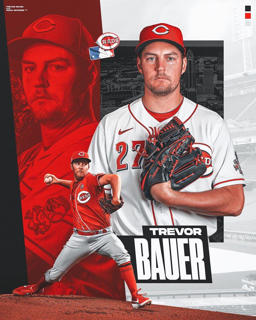 Adam Spizzirri 18 On Instagram 141 Trevor Bauer Bauer Power Bauer Outage Pitcher For The Cincinnati Reds Bauerou Trevor Bauer Trevor Cincinnati Reds