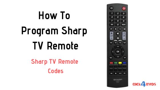 How To Program Remote V Remote Sharp Tv Remote Codes Sharp Tv Tv Remote Remote