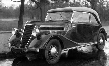 1937 Renault Primaquatre Cabriolet
