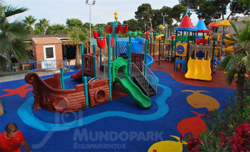 Parque infantil | IDEAS CONSTRUCTIVAS URBANISTICAS | Pinterest ...