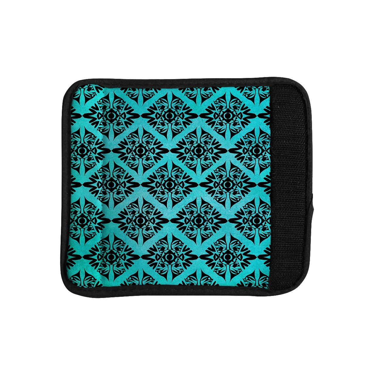 KESS InHouse Pom Graphic Design 'Eye Symmetry Pattern' Luggage Handle Wrap - Brought to you by Avarsha.com