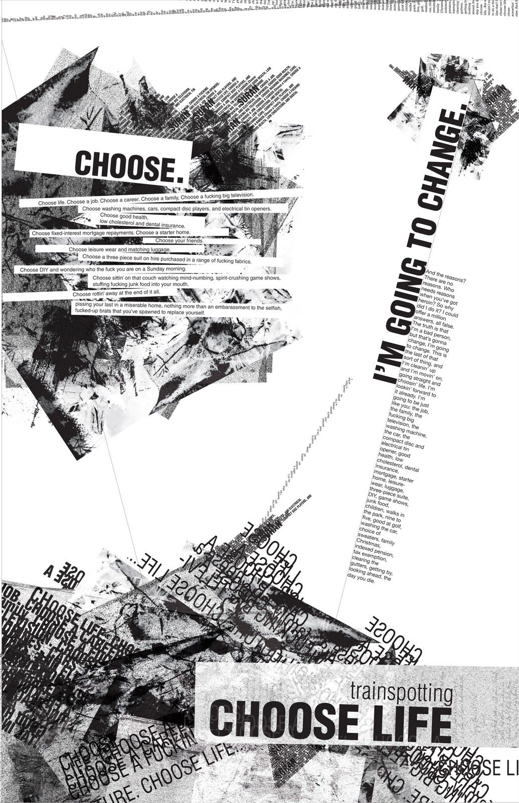 Trainspotting | Film posters | Pinterest | Choose life and ...