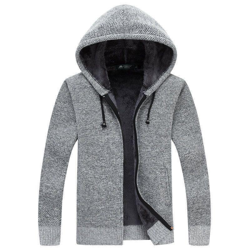 Cardigan Masculino 2017 New Winter Thick Warm Sweater Men Wool ...