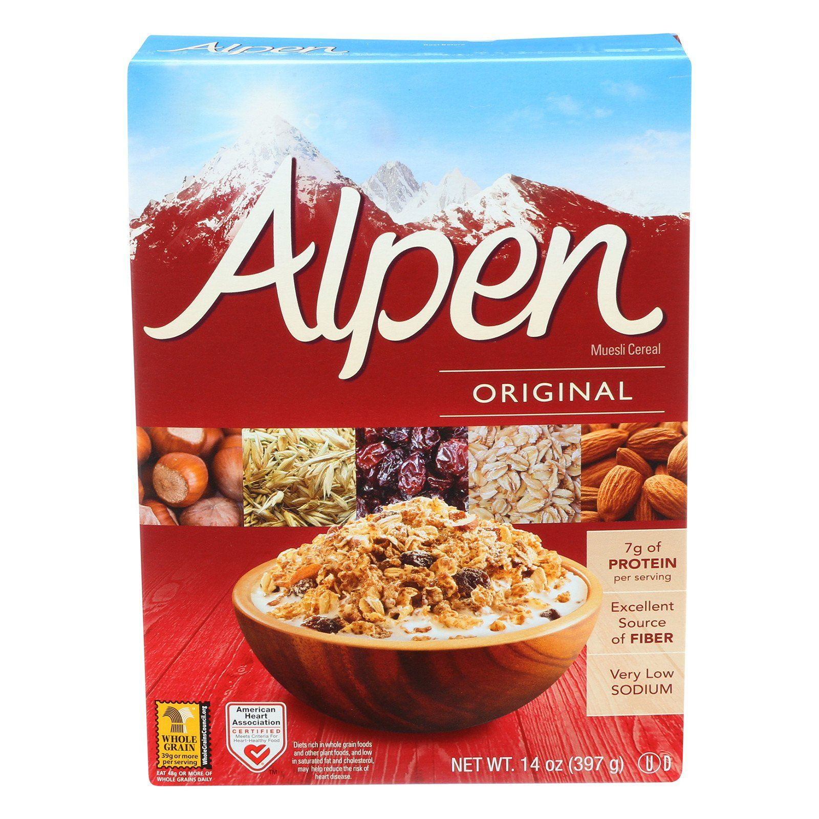 Alpen Original Muesli Cereal 14 oz