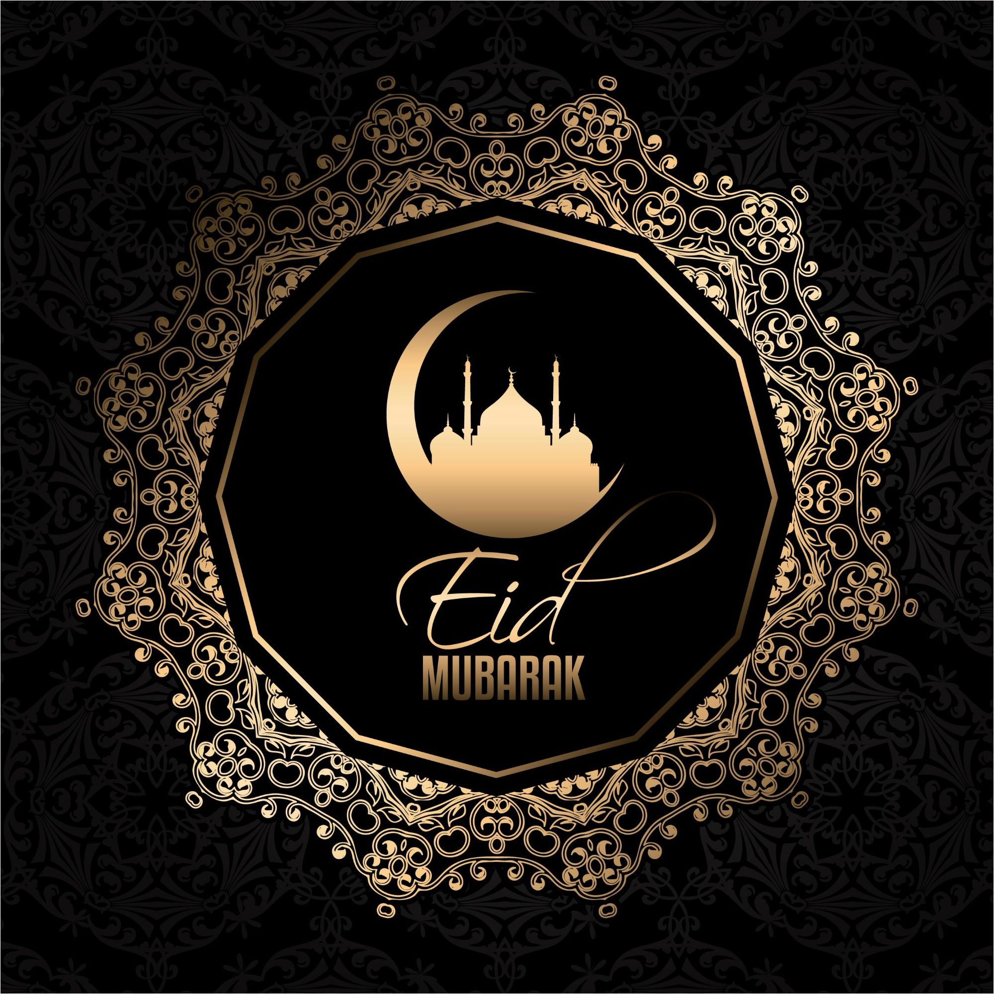 Black color design background eid mubarak greetings vector http black color design background eid mubarak greetings vector httpwww vector kristyandbryce Choice Image
