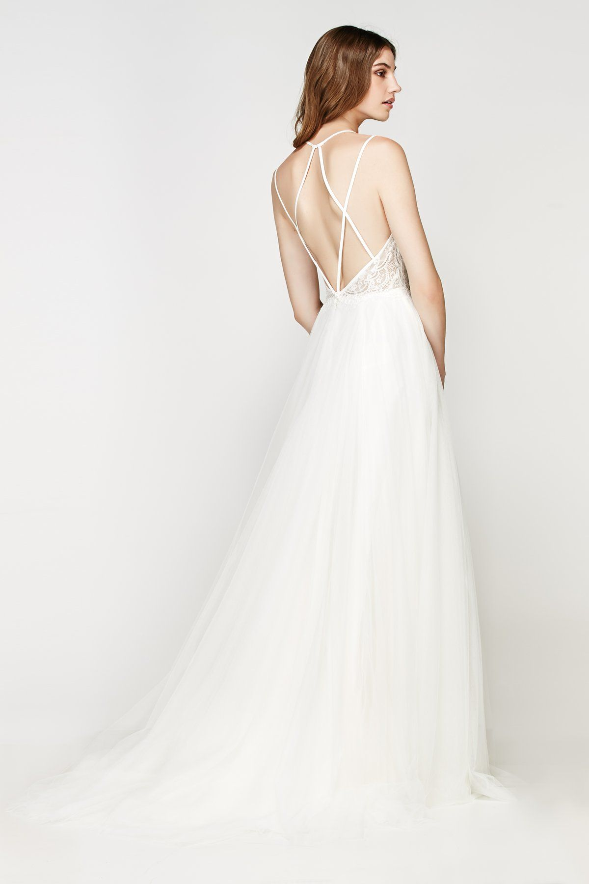 Madiera Gown From Willowby By Watters Is Available At Sincerely The Bride Vancouver Wa Portl Watters Wedding Dress Wedding Gown Backless A Line Wedding Dress