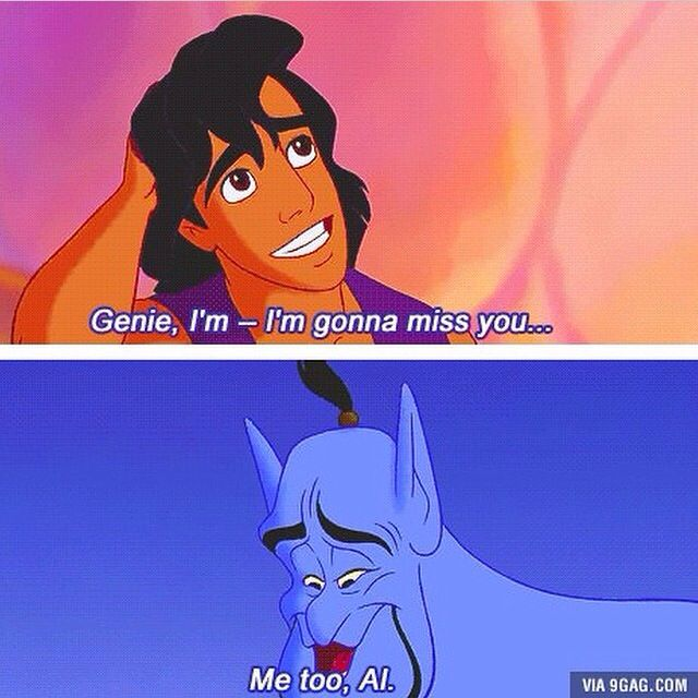 Rip Robin Williams. Yes, it's ok to cry.