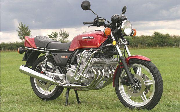 Honda CBX classic bike