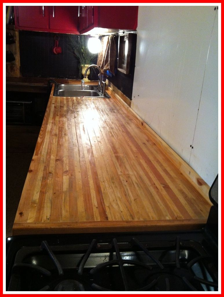 65 Reference Of Diy 2x4 Countertops In 2020 Wooden Countertops Kitchen Building Kitchen Cabinets Kitchen Island Countertop