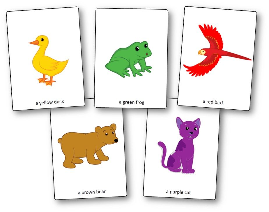 Brown Bear Brown Bear What Do You See Printable Activities