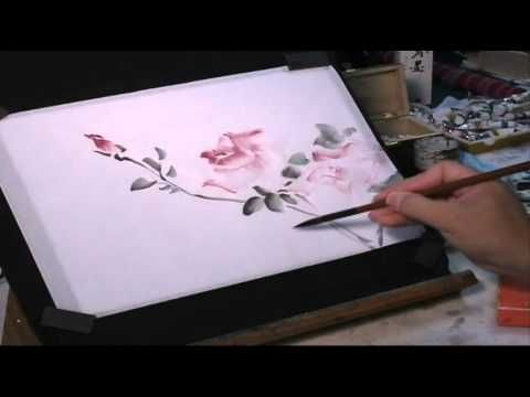 Watercolor Tutorial How To Wield A Chinese Brush To Paint
