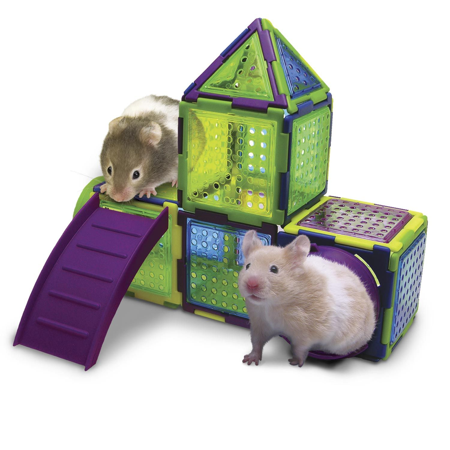 Super Pet Puzzle Playground Small Animal Junglegym Pet Mice Small Pets Hamster Toys