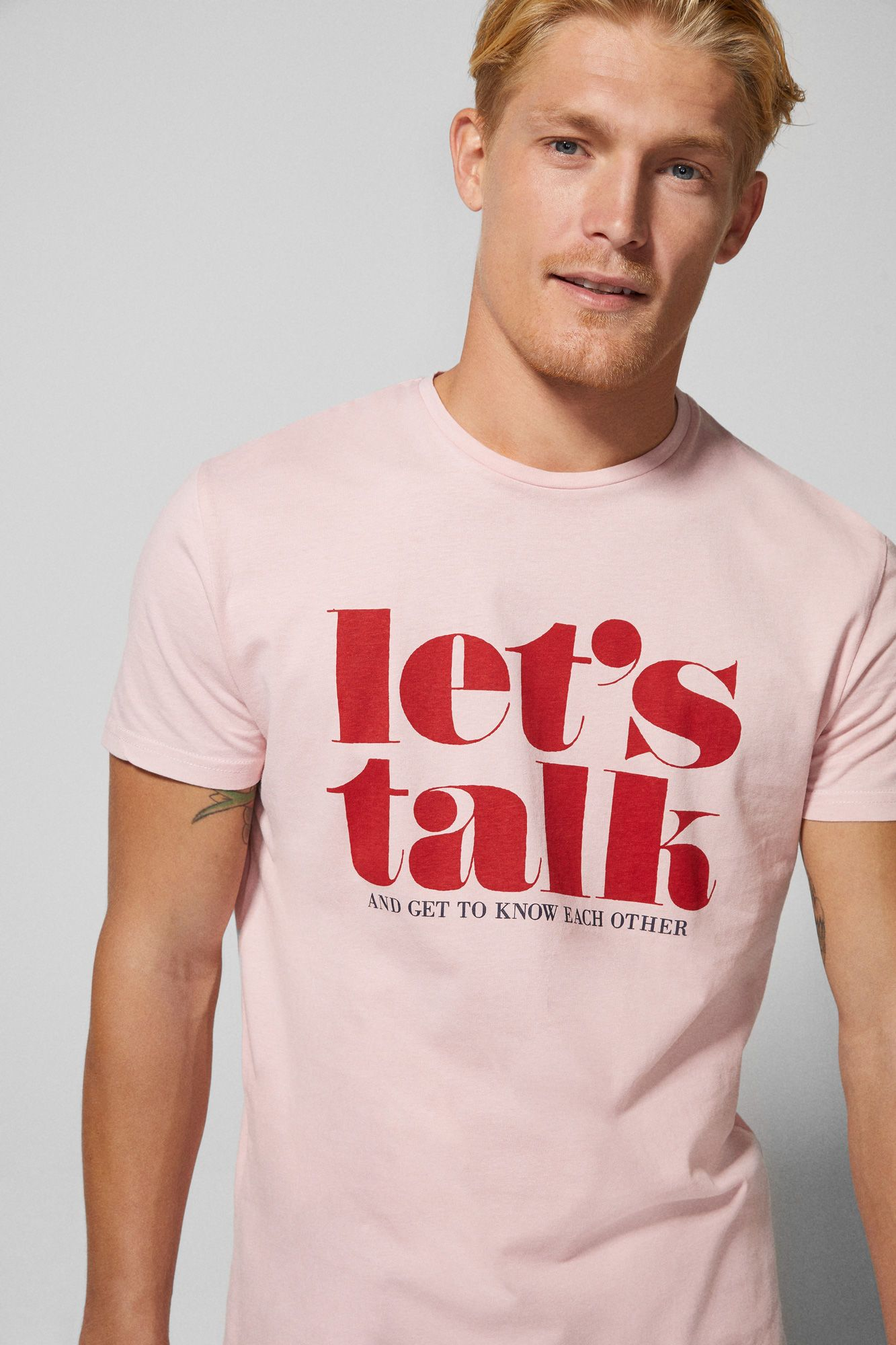 6c37b3ad37 T-shirt lets talk | T-SHIRTS | Springfield | Father's Day in 2019 ...