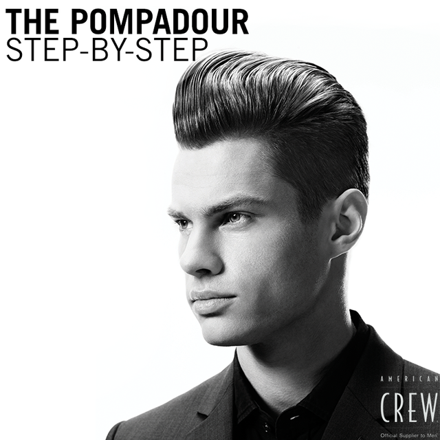 The Classic Modern Pompadour Step By Step Hair Inspiration