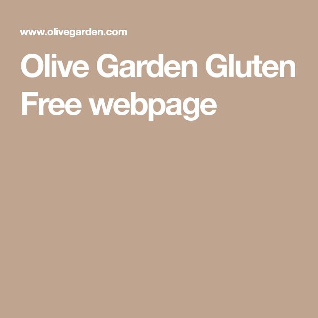 Olive Garden Gluten Free Webpage Olive Garden Gluten Free Free Webpage Gluten Free