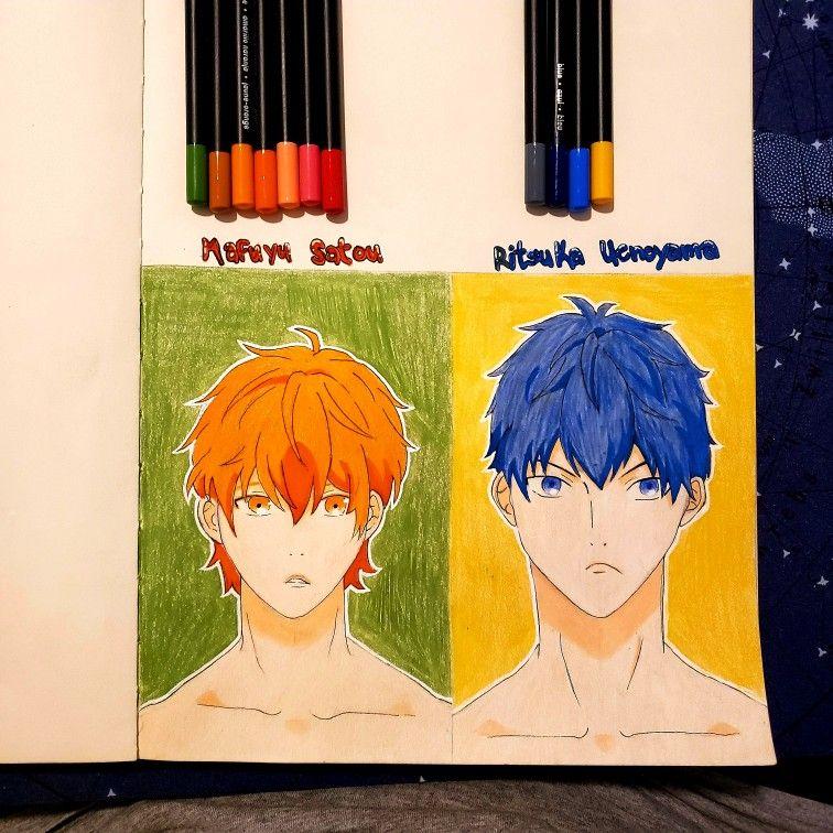 Mafuyu & Uenoyama Given   Anime, Drawings, Poster