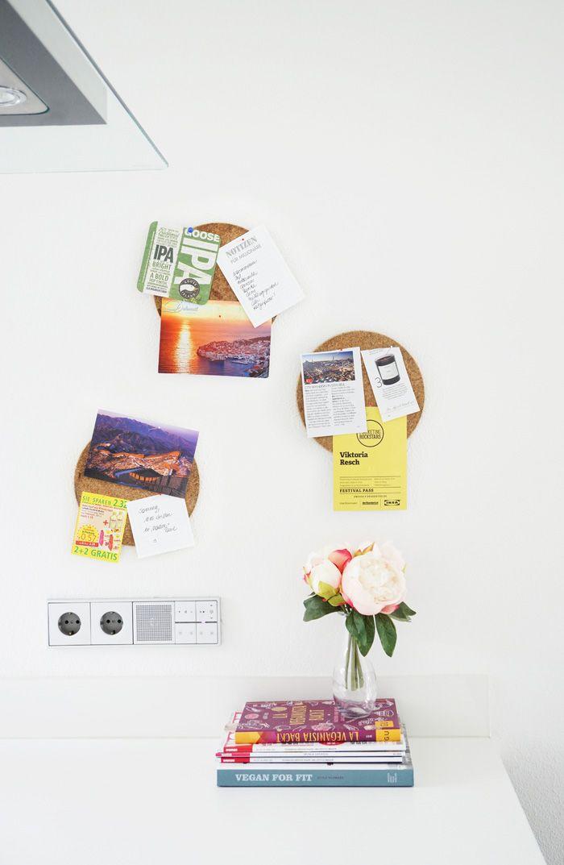 bettertogether mit Ikea  in kleines Küchen-Pinnwand-DIY Walls