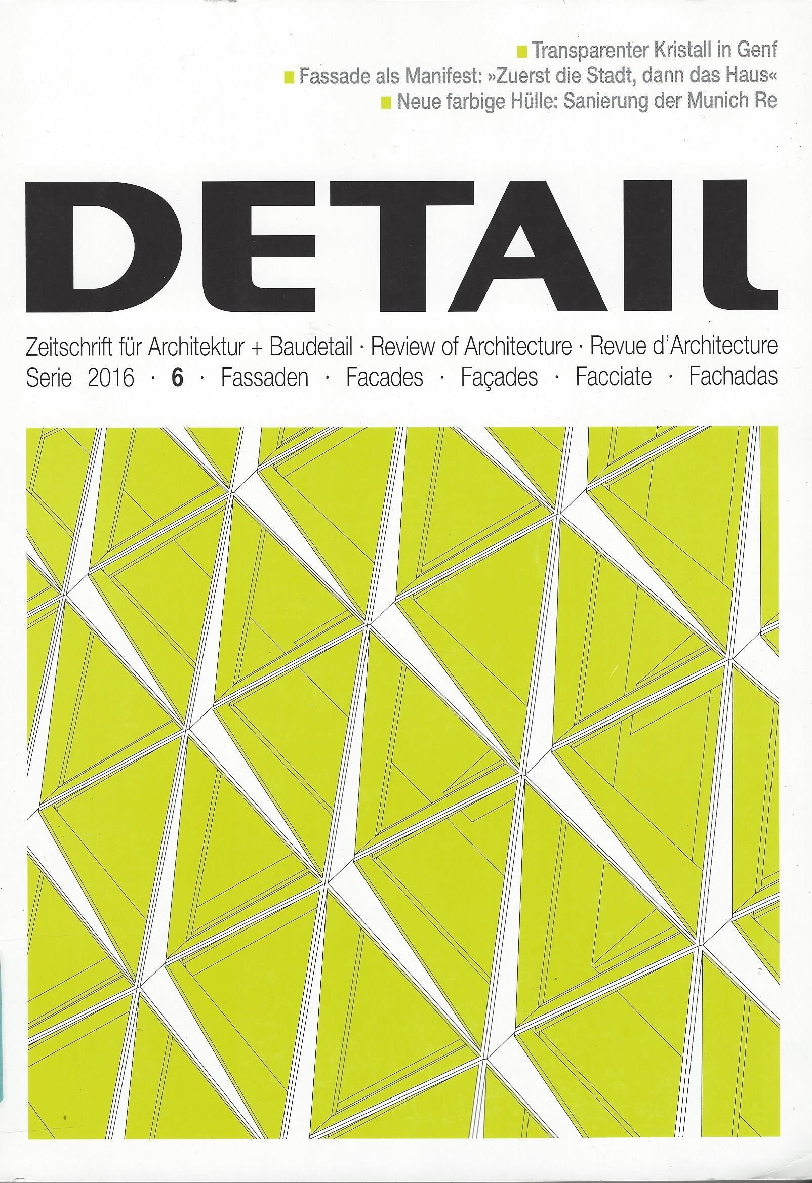 Detail : Zeitschrift für Architektur + Baudetail = Review of ...