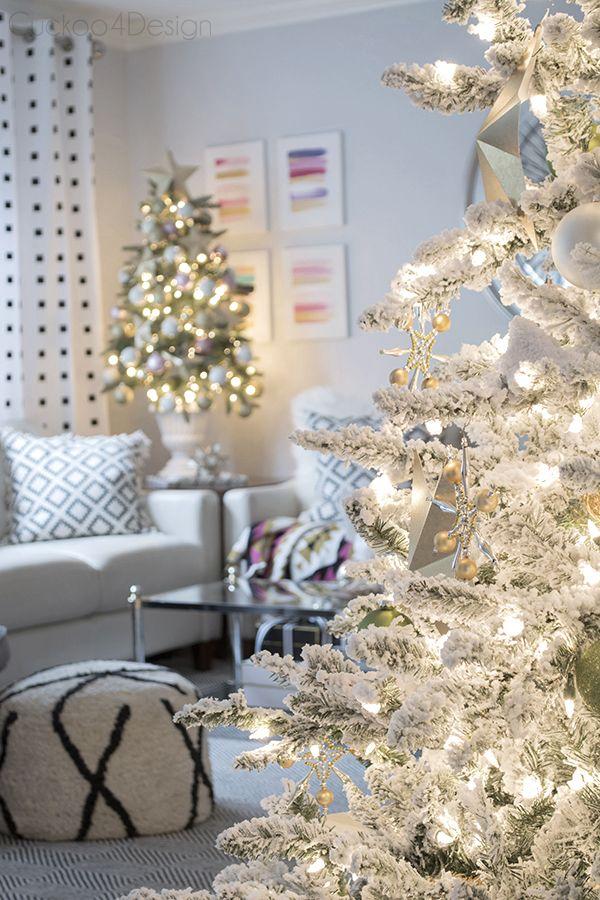 natal #christmas #árvoredenatal #livingroom Decoração de Natal