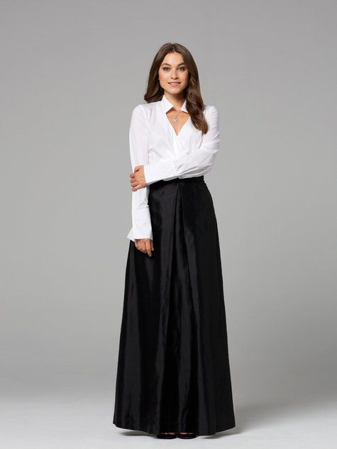 Inverted Maxi-Skirt 11/2012 #126 | Nähen | Pinterest | Nähen