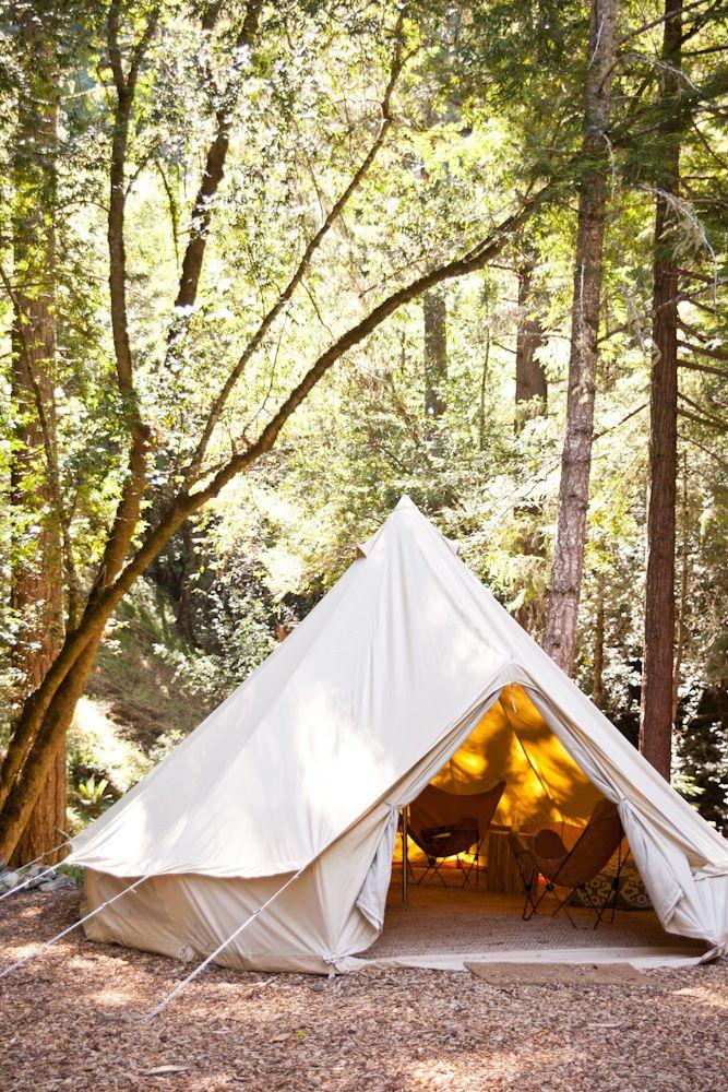 De heerlijke Bell tent. We verkopen verschillende modellen bij urbans and indians!