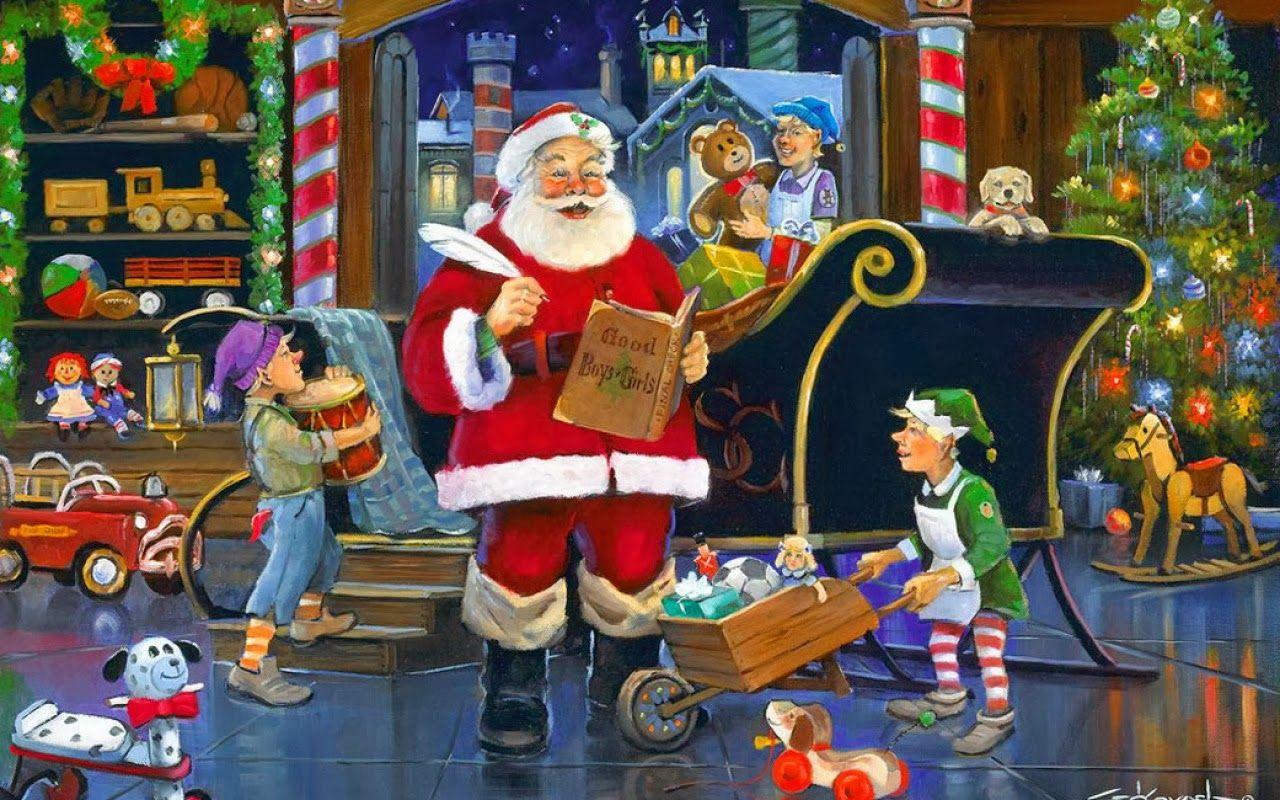 My Thoughts In Rhyme Santa S Elves Santas Workshop Christmas Elf Santa